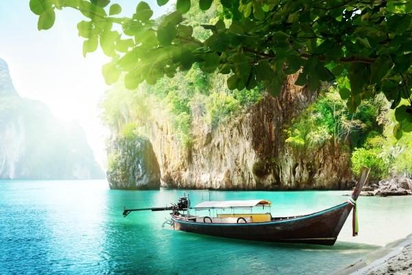 Paysages près de Bangkok
