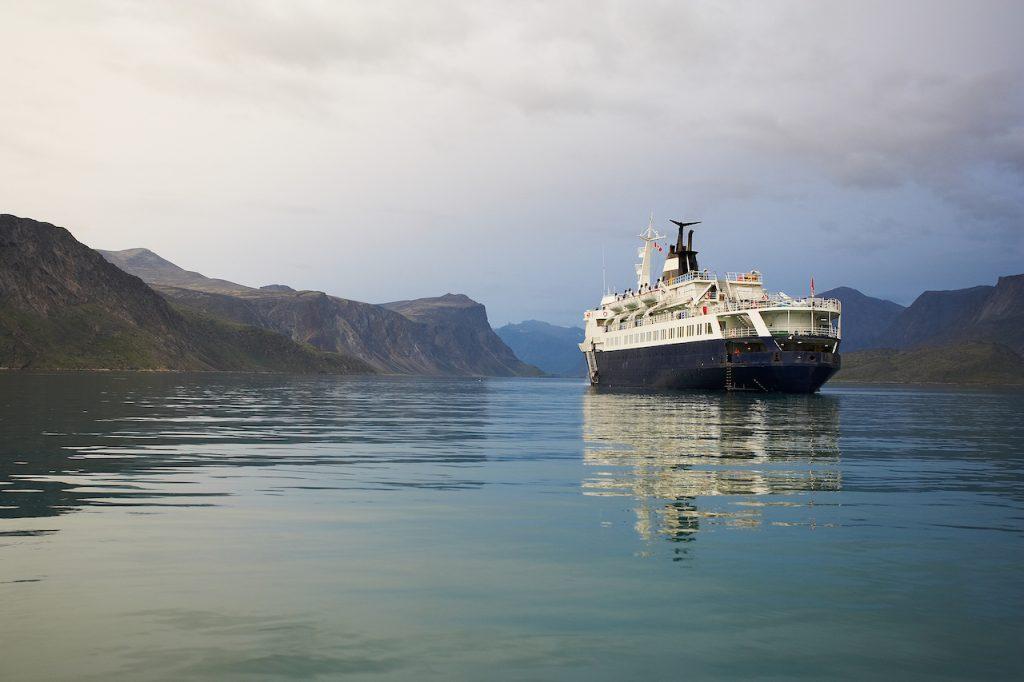 Croisière sur l'océan Arctique
