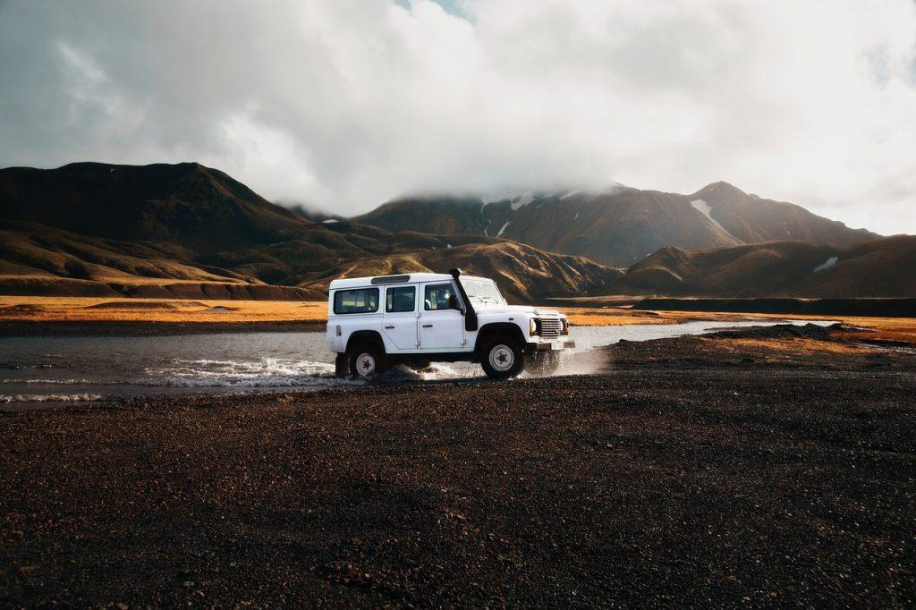 Conduire une voiture en Islandee