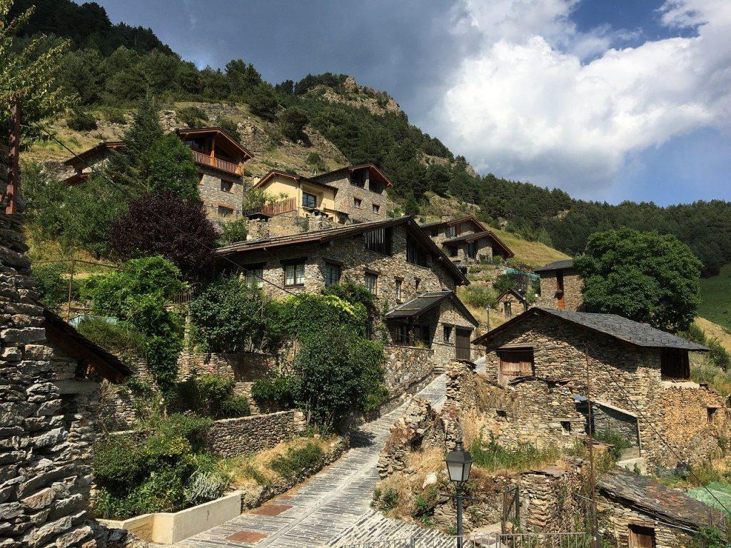 Andorre dans les Pyrénées