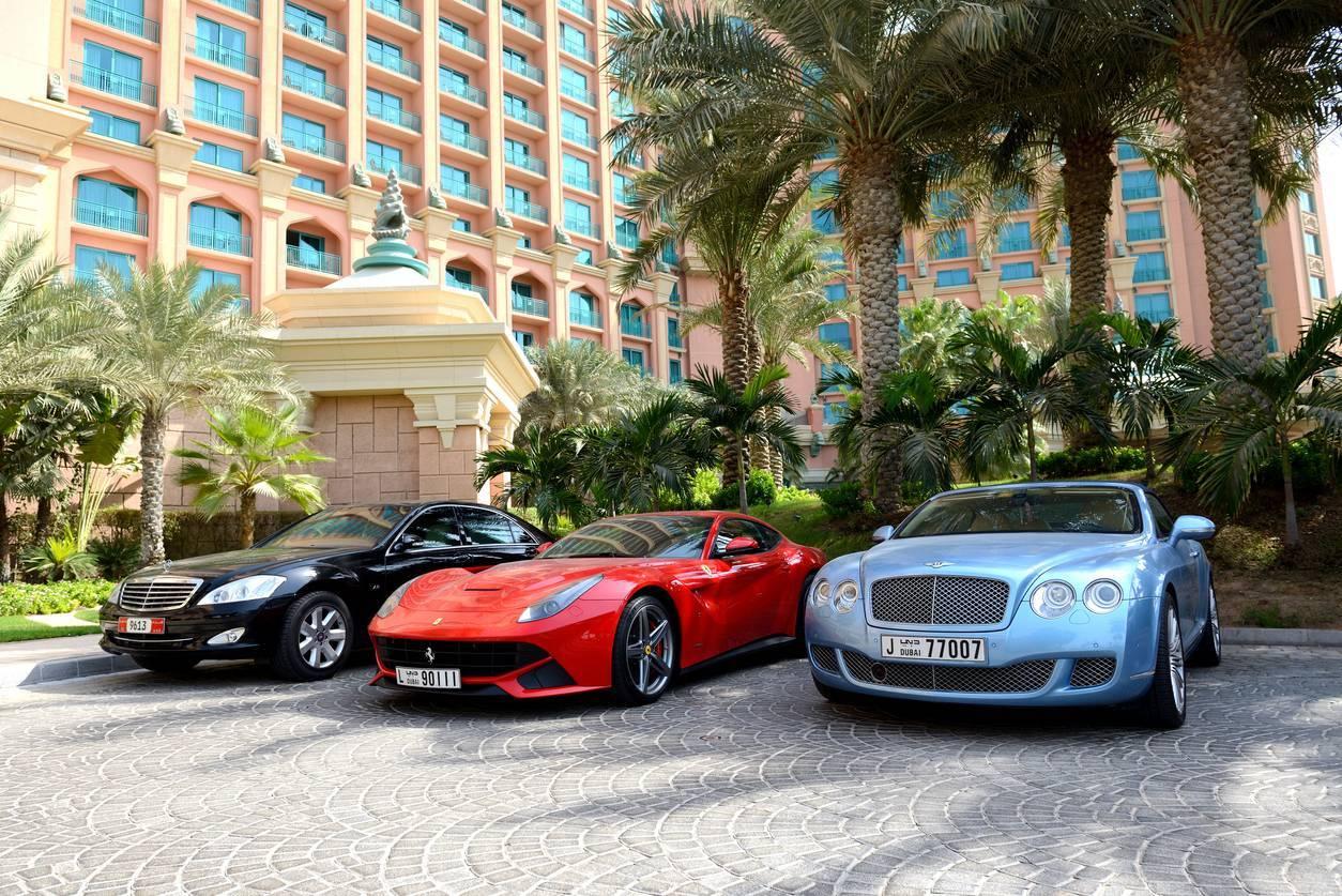 voiture luxe Dubai