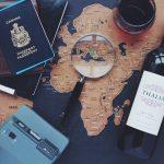 les accessoires de voyage