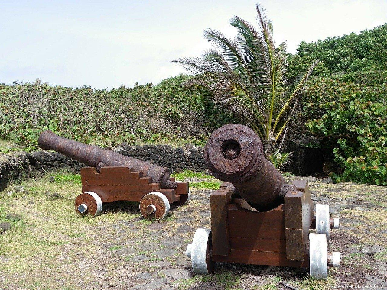Canons en Guadeloupe