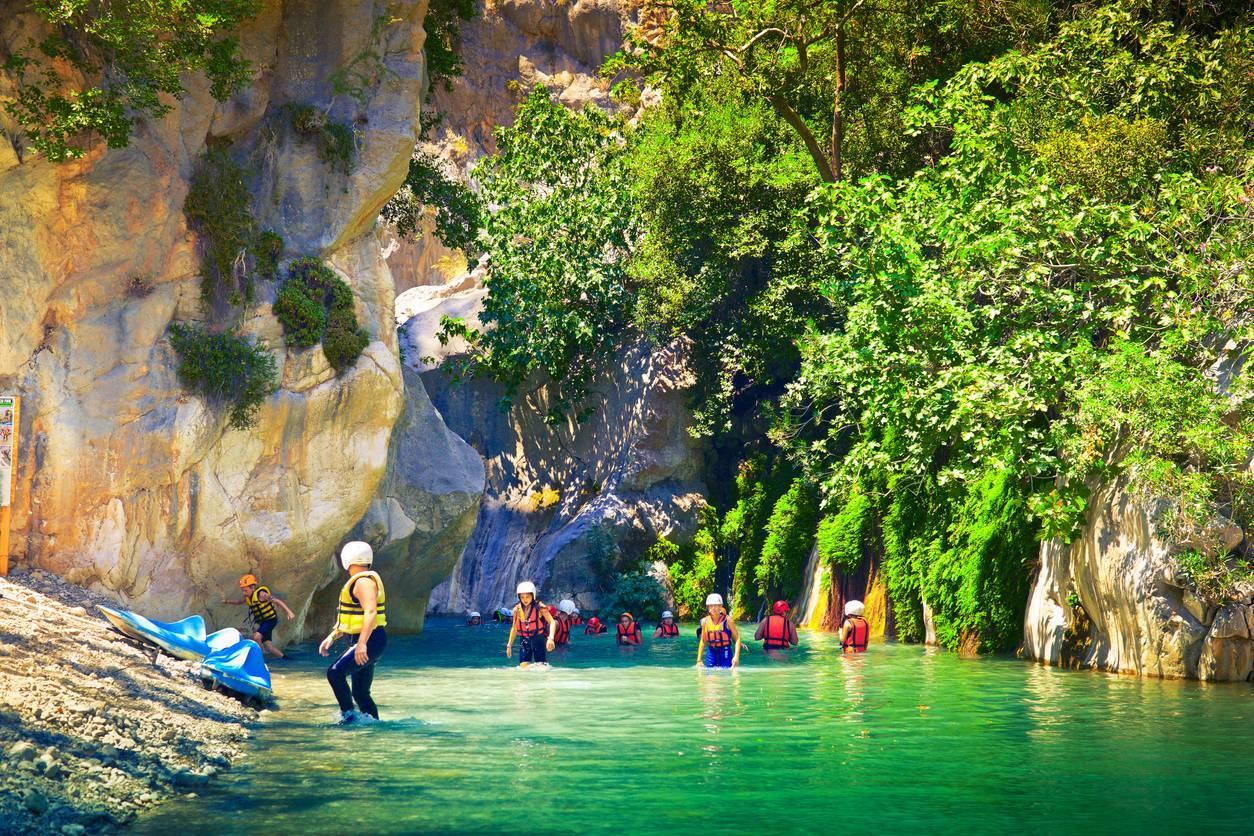 canyoning à Nice