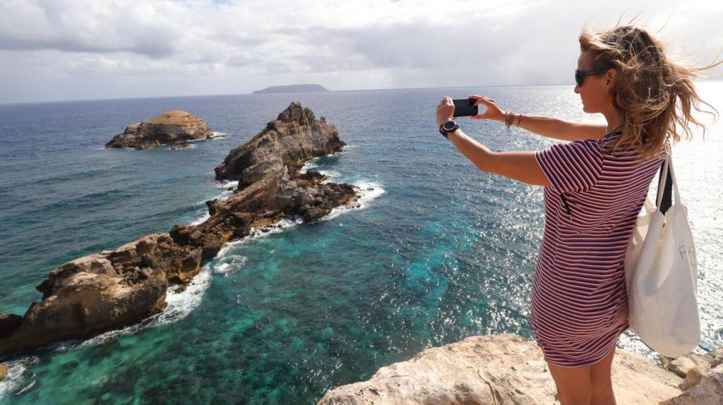 Touriste en Guadeloupe